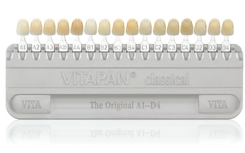 photograph regarding Tooth Shade Chart Printable known as How white are bleached enamel? - Beauty Dentistry Blog site