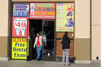 a clinic offering cheap dental care