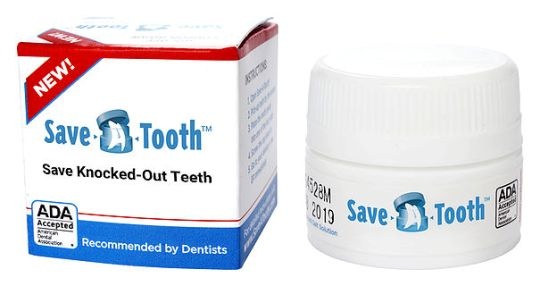 Save-A-Tooth for saving avulsed teeth